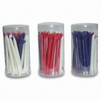 Buy cheap Golf Tee, Various Colors are Available, with 70mm Length from wholesalers