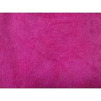 Buy cheap Red colorful warp terry cloth 50*60 textile microfiber household cleaning towel from wholesalers