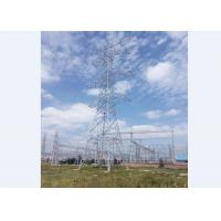 Buy cheap Ground Based Power Transmission Line Tower High Rise Structure from wholesalers