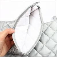 Buy cheap OEM Service Durable Silver Oven Mitts Cotton Material  Customized Patterns product