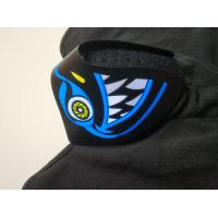 Buy cheap Wholesale Custom Light Up El Mask Party Favor Sound Activated el Panel Mask For Music party  DJ mask Makeup Dance mask from wholesalers