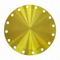 Buy cheap 6-inch RF 150# Blind Flange, Yellow Zinc Painting from wholesalers