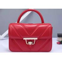 Women Quilte Stylish Evening Bags And Clutches Pu Leather And Classic Buckle Closure