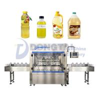 Buy cheap Dongtai Automatic weighing edible oil filling machine Liquid Filling Machine Filling Machine manufacturer China from wholesalers