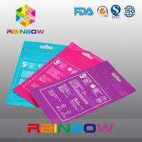 Buy cheap OPP Header Bags With Adhesive Strip For Tissue /  Printed Cellophane Bags With Logo from wholesalers