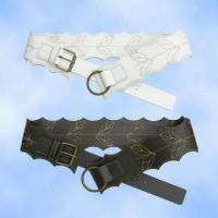 Buy cheap Special Design PU Belts with Leaf Embroidery from wholesalers