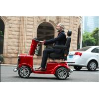 Buy cheap Retro elder folding mobility scooter for disabled  800W  long distance 150*68*135cm 100kg 0~15km/h 150kg 24V,55AH from wholesalers
