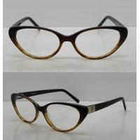 Buy cheap Vintage Hand Made Acetate Eyeglasses Frames For Ladies / Men, 48-18-140mm from wholesalers