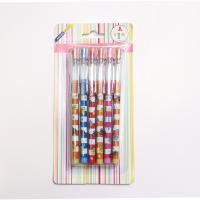 Buy cheap Plastic Non-sharpening Pencil  with 9 colors with blister card packing for kids from wholesalers