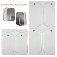Buy cheap epoxy sticker and resin dog tag product