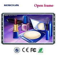 Buy cheap Open Frame Led Advertising Screen HD 1280X720P Video Resolution With Push Button from wholesalers