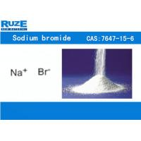 Buy cheap Colorless Cubic Crystal Inorganic Bromide Sodium Bromide Slightly Soluble In Alcohol from wholesalers