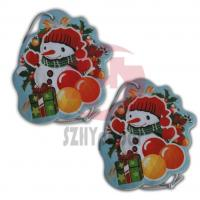 Buy cheap Personalize Cotton And Silk-Screen With Various Shape Paper Custom Air Fresheners For Car from wholesalers