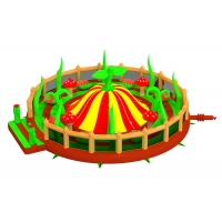 Buy cheap Countryside Big Commercial Bouncers 10mW Inflatable Fun Land from wholesalers