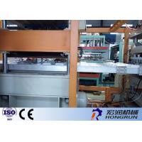 Buy cheap Disposable PS Foam Plastic Container Production Line With Forming / Cutting / Stacking Parts product