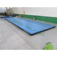 Buy cheap Flat Surface Inflatable Landing Mat , Bouncy Gymnastic Mats Wear Resistance from wholesalers