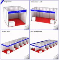Buy cheap 3x3M Standard Booth For Exhibition Expo Hall,Modular Shell Scheme Stand,R8 System Aluminiu from wholesalers
