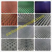 Buy cheap carbon fiber fabric/cloth,colorized carbon kevlar hybrid cloth,OEM,new style from wholesalers