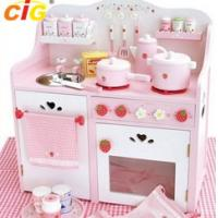Buy cheap Kid Kitchen Popular Outdoor Furnitures Kitchen Toy Set 380*660*700mm from wholesalers