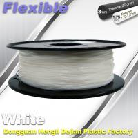 Buy cheap Red Flexible 3d Printer Filament materials in 3d printing 1.75 / 3.0 mm 0.8KG / Roll from wholesalers