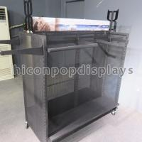 Buy cheap Winter Outwear Clothing Retail Store Fixtures , Metal Shelf Racks from wholesalers
