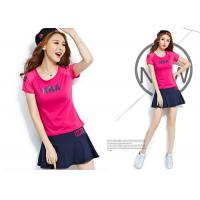 Buy cheap Fitness Running Womens Sport Skirts , Anti Static Cotton Sleepwear Dress For Adults product
