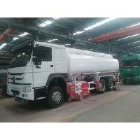 Buy cheap 5mm carbon steel Gasoline Fuel Tanker Truck refuelling truck for sale from wholesalers