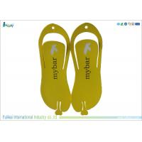 Buy cheap Yellow Disposable Flip Flops High Density Slippers For Men Size 12  from wholesalers