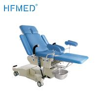 Buy cheap Electrical Hydraulic Examination Bed Alluminium Alloy Adjustable Hospital Beds Blue Color product