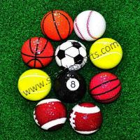 Buy cheap Sports Balls Shaped Golf Gift Balls from wholesalers
