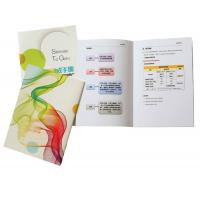 Buy cheap Full Color Brochure Booklet Printing Bi Fold Land Square Photo Magazine Book from wholesalers
