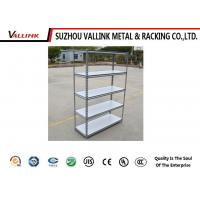 Buy cheap Small 5 Tiers Silver Grey Boltless Steel Shelving For Garage , Industrial Basement from wholesalers