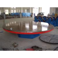 Buy cheap 4000 mm Table Diameter Welding Rotary Positioner , 3 T Motorized Rotating Table from wholesalers