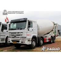 Buy cheap HOWO 8x4 ENGINE POWER 371HP, MIXING CAPACITY 12CBM CEMENT MIXER TRUCK from wholesalers