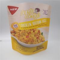 Buy cheap Rice Plastic Packaging Bags For Food , Granola Custom Printed Stand Up Pouches from wholesalers