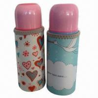 Neoprene Cartoon/Bottle Cooler with Bottom