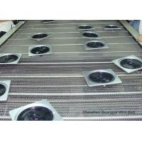 Buy cheap Spiral Stainless Steel Wire Mesh Conveyor Belt For Drying / Cleaning Strong Tension from wholesalers