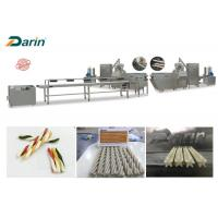 Buy cheap Pet Favorite Single Extruder Dog Food Extruder Machines Full Automatic Stailess Steel from wholesalers