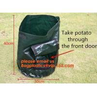 Buy cheap 5-Pack 7 10 Gallon Grow Bags Aeration Fabric Pots With Handle Felt Plant Growing Bags,Portable Durable Big Home Farm Fel from wholesalers