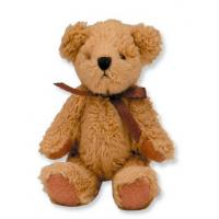 Buy cheap bear keychain,plush joint button bear keychain toy from wholesalers