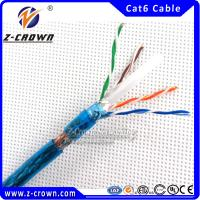 Buy cheap 4*2*0.57mm SFTP Cat6 Cable 305m product