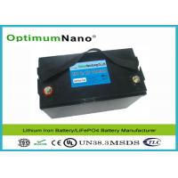 Buy cheap Powerful 100Ah Maintenance Free 12V Lithium Battery With Automatic Internal Cell Balancing from wholesalers