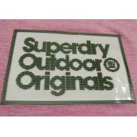 Buy cheap Soft 3D Silicon Raised  Heat Transfer Clothing Labels Iron On Tags Special Technical from wholesalers