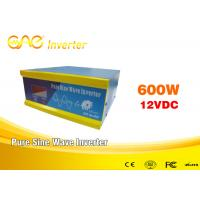 Buy cheap High Efficiency 93% Solar Inverter Online12v Dc 220v Ac Single Phase Output 600w from wholesalers