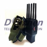 Buy cheap Handheld 8 Bands All CellPhone and WIFI LOJACK GPS Signal Jammer with Nylon Case from wholesalers
