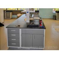 Buy cheap 304 SUS Steel Dental Laboratory Bench School Science Furniture Movable Structure from wholesalers