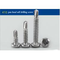 Buy cheap Black Oxide Round Head Stainless Steel Self Drilling Fasteners Full Thread # 14 X 1  from wholesalers