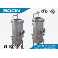 Buy cheap Large flow rate PP melt blown Cartridge Filter Housing for industry water treatment from wholesalers