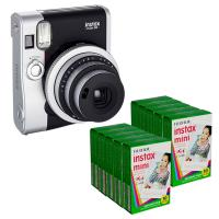 Buy cheap Black Fuji Fujifilm Instax mini 90 Neo / Classic Polariod Instant Camera from wholesalers