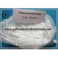 Buy cheap Fluoxymesterone Oral Anabolic Steroids Muscle Building Steroids CAS 76-43-7 Assay 99% from wholesalers